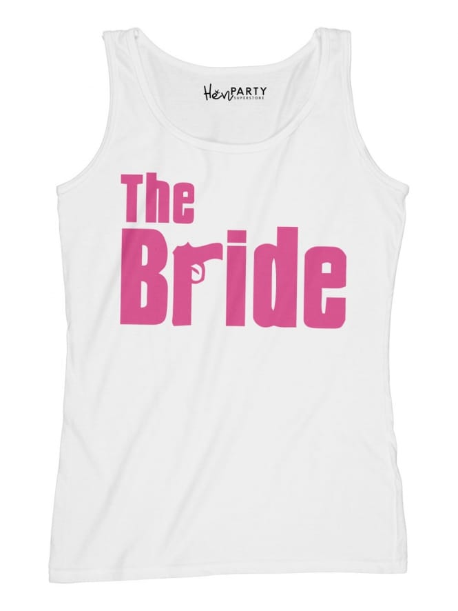 Hen Party Superstore Gangster Bride Hen Party T-Shirt