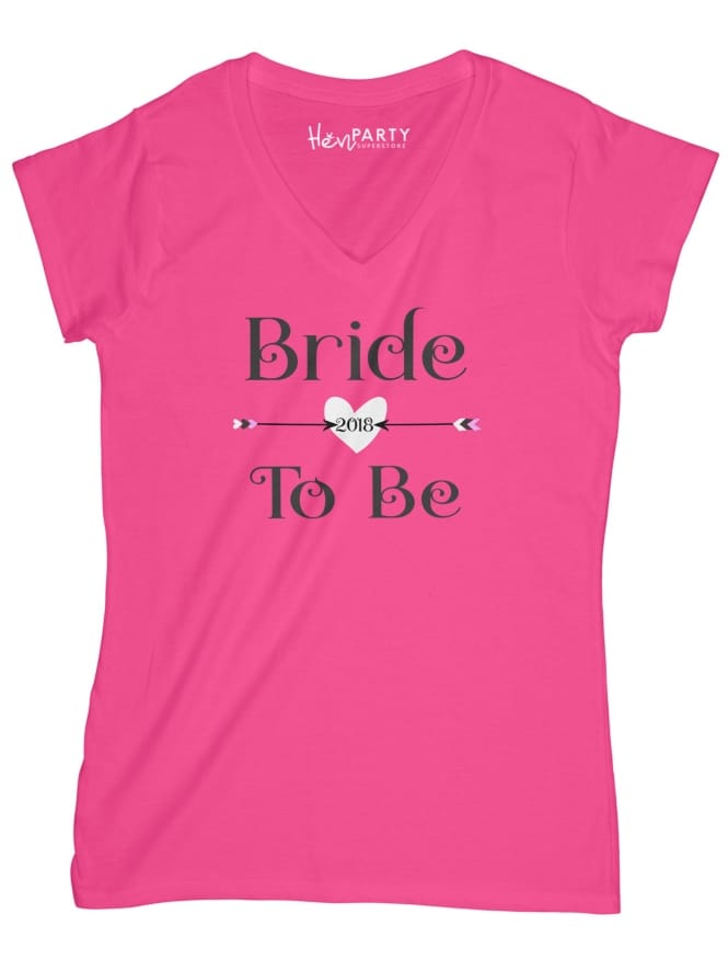 Hen Party Superstore Love Arrow Bride T-Shirts