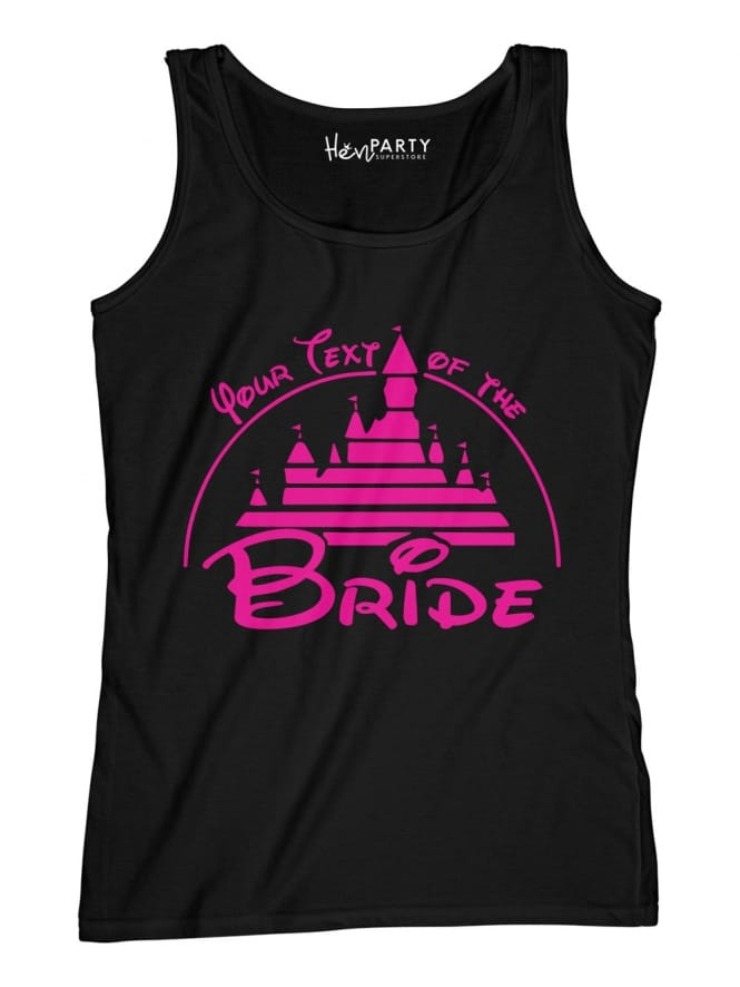 Hen Party Superstore Magical Princess Your Text Of The Bride T-Shirts