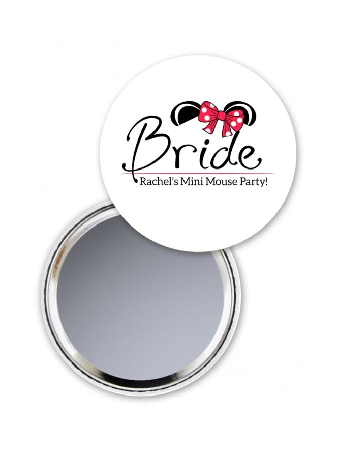 Mouse Bride Pocket Mirror