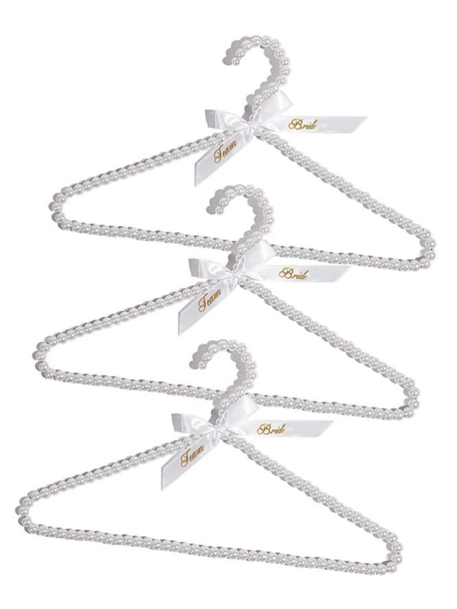 Luxury Team Bride Hangers (Pack of 3)