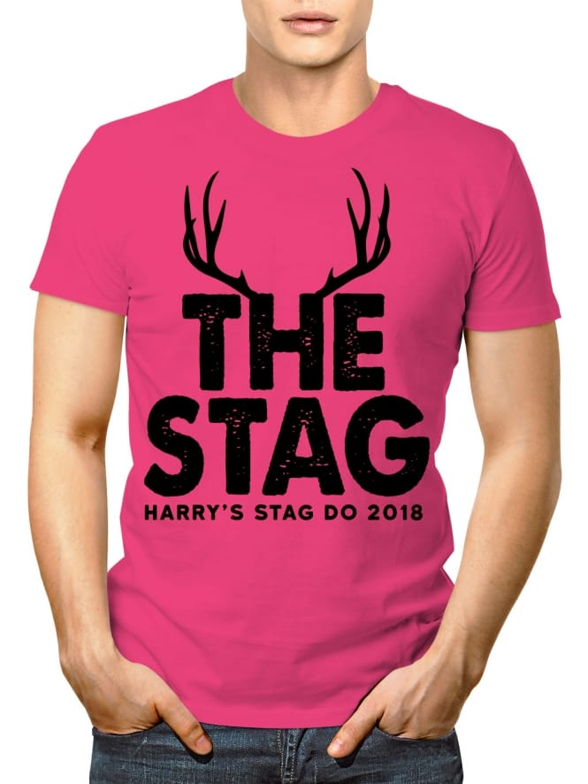 The Stag Personalised Party T-Shirt
