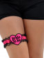 Bride To Be Lace Heart Garter