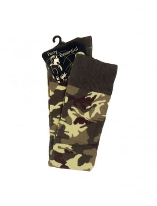 Camouflage Army Fashion Socks