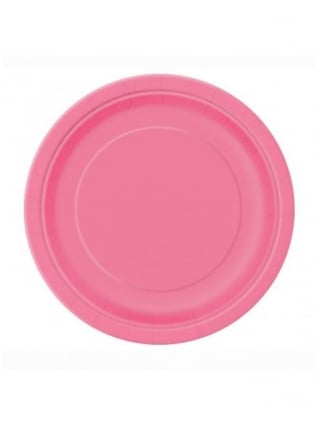 X8 Hen Party Pink 7 Inch Plates