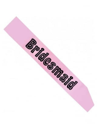 Pink Bridesmaid Hen Party Sash
