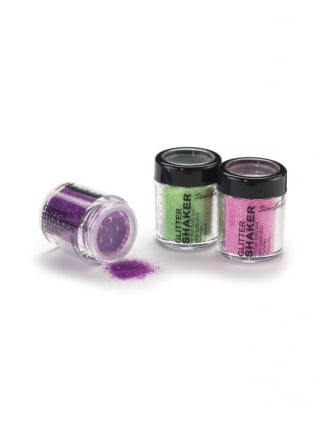 Neon UV Glitter Shaker for Hair & Body
