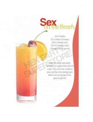 Sex On The Beach Hen Party Cocktail