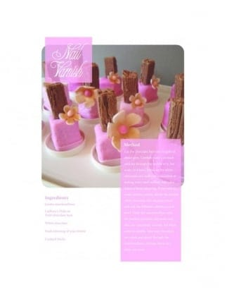 Marshmallow Nail Varnish Hen Party Food