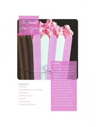 Pink Popcorn Hen Party Food