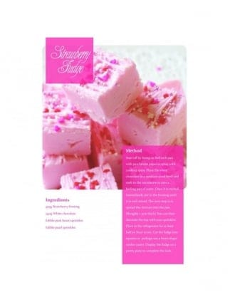 Strawberry Fudge Hen Party Food Recipe