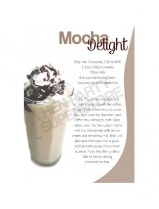 Mocha Delight Milkshake Recipe