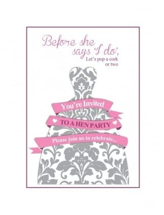 free printable party invitations hen party superstore