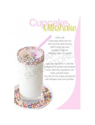 Hen Party Cupcake Milkshake Recipe