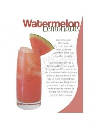 Aug 10, · 2. In a pitcher, combine the 2 ounces of the syrup with the watermelon juice, lime juice and ice. Stir to chill, then divide between ice-filled glasses. Garnish with watermelon wedges and serve.5/5(32).