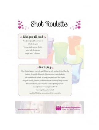 Shot Roulette Free Hen Party Game
