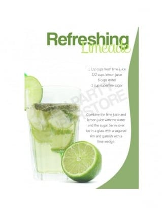 Hen Party Refreshing Limeade Mocktail Recipe