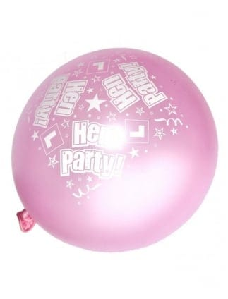 Luxury Satin Hen Party Balloons 6pk