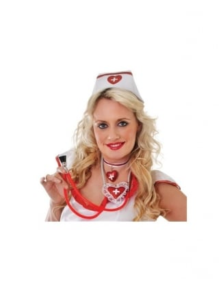 Fancy Dress Nurse Hat