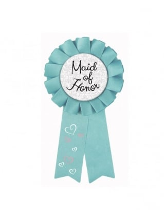 Hen Party Maid Of Honour Rosette Badge