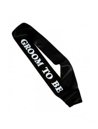 Groom To Be Sash Stag Night Accessories