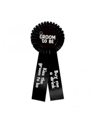 Groom To Be Rosette, Stag Night Accessories