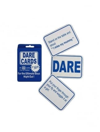 Stag Night Dare Cards Stag Night Games
