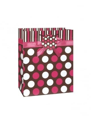 Hen Party Extra Large Spotty/ Polka Dot Gift Bag