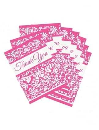 x8 Bridal Shower Thank You Cards
