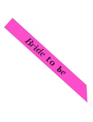 Value Bride To Be Hen Party Sash