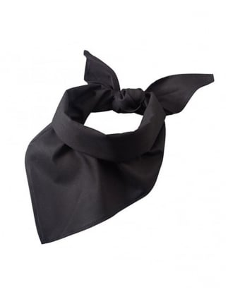 Fancy Dress Cowgirl Black Bandanna
