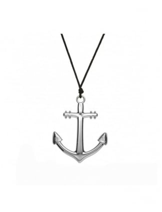 Fancy Dress Sailor Accessories Anchor Necklace