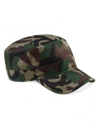 Quality Dark Camouflage Print Fancy Dress Army Hat