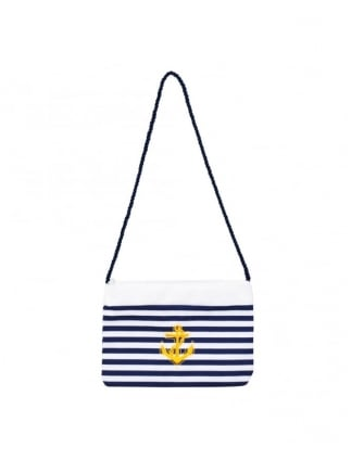 Fancy Dress Sailor Girl Accessories Hand Bag