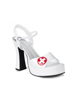 Fancy Dress Ladies Nurse Shoes
