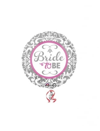 Elegant Bride To Be Foil Helium Balloon