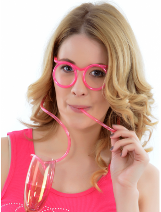 Super Suckers Drinking Glasses Straw