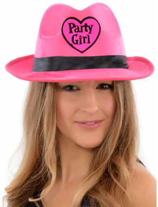 Hen Party Hat 'Party Girl' Fedora