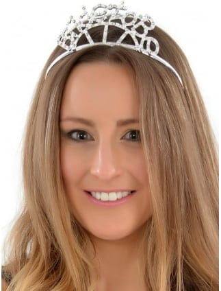 Boxed Celebrity Style Bride To Be Tiara/ Deluxe Diamante Tiara