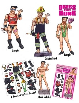 Dress The Hunk Hen Party Game
