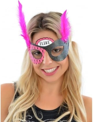 Hen Party Girls Night Out Fancy Dress Masks