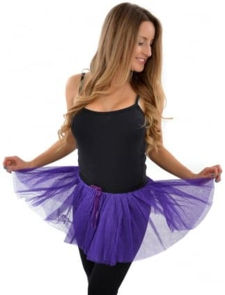 Purple Fancy Dress Tutu Skirt