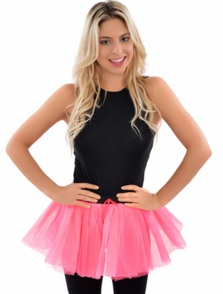 Neon Fancy Dress Party Tutu Skirt