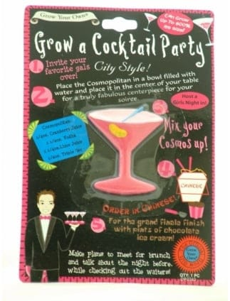 Grow A Cocktail Novelty Hen Party Gift