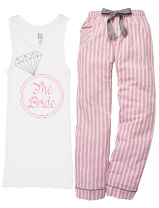 Bling Ring The Bride Hen Party Pyjamas