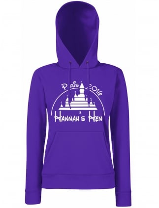 Magical Hen Party Personalised Hoodie