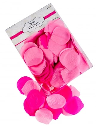 Hen Party/ Wedding Rose Petals Table Decoration