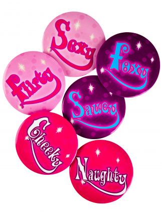 Saucy Hen Party Badges