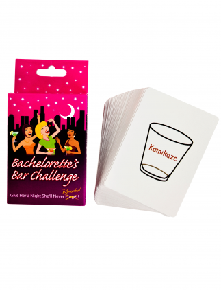 Hen Party Bar Challenge Playing Cards