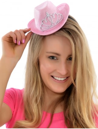 Mini Cowgirl Hen Party Hat